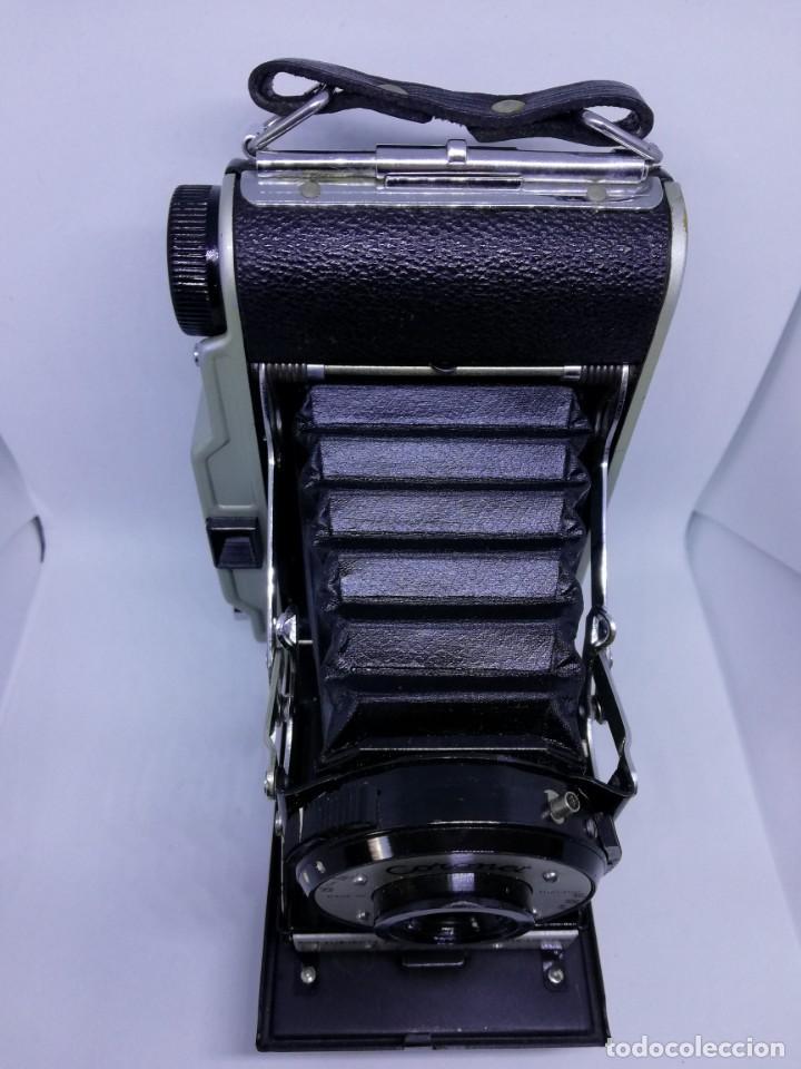 Cámara de fotos: Camara Coronet Clipper muy excepcional y rara de fuelle antigua de coleccionismo vintage - Foto 7 - 157342450