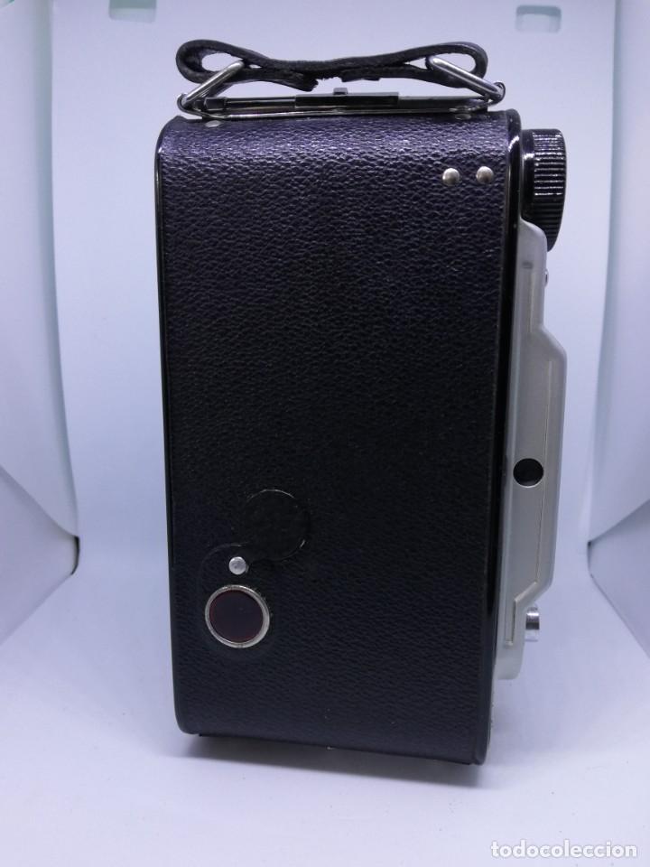 Cámara de fotos: Camara Coronet Clipper muy excepcional y rara de fuelle antigua de coleccionismo vintage - Foto 9 - 157342450