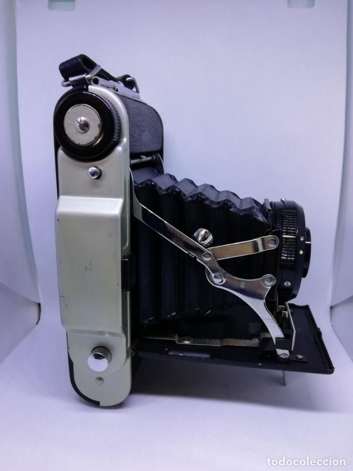 Cámara de fotos: Camara Coronet Clipper muy excepcional y rara de fuelle antigua de coleccionismo vintage - Foto 10 - 157342450