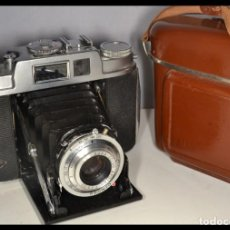 Cámara de fotos: CAMARA AGFA ISOLETTE L - FUNDA ORIGINAL - REF. 1654. Lote 158238726