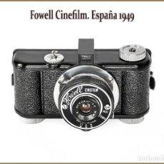Cámara de fotos: FOWELL CINEFILM. HECHA EN ESPAÑA EN 1949. ESTADO: ABSOLUTAMENTE NUEVA. Lote 158411966