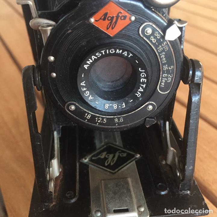 Cámara de fotos: Agfa Billy Anastigmat JGETAR F: 8.8 Antigua cámara de fuelle - Foto 4 - 158605680