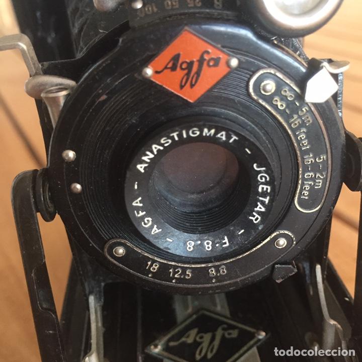 Cámara de fotos: Agfa Billy Anastigmat JGETAR F: 8.8 Antigua cámara de fuelle - Foto 5 - 158605680