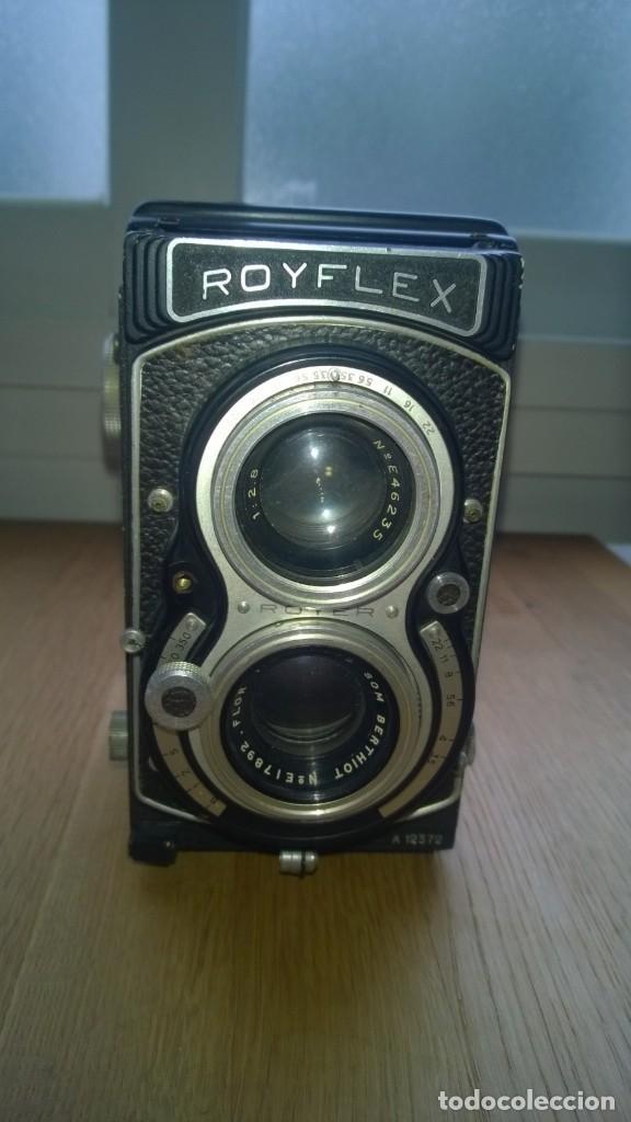 ROYFLEX (ROYER) (CÁMARA DE FOTOGRAFÍA DE DOS OBJETIVOS) -FRANCIA (Cámaras Fotográficas - Antiguas (hasta 1950))