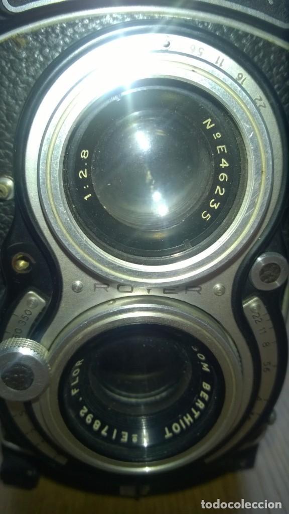 Cámara de fotos: Royflex (Royer) (Cámara de fotografía de dos objetivos) -FRANCIA - Foto 2 - 158928442