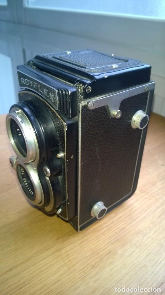 Cámara de fotos: Royflex (Royer) (Cámara de fotografía de dos objetivos) -FRANCIA - Foto 4 - 158928442