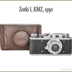 Cámara de fotos: ZORKI I. LLAMATIVA CAMARA TELEMETRICA RUSA DE 1950. MUY BUEN ESTADO DE CONSERVACION.. Lote 158940238