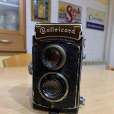 Cámara de fotos: ROLLEICORD II K3 MDELI I DE 1936. Lote 159014938