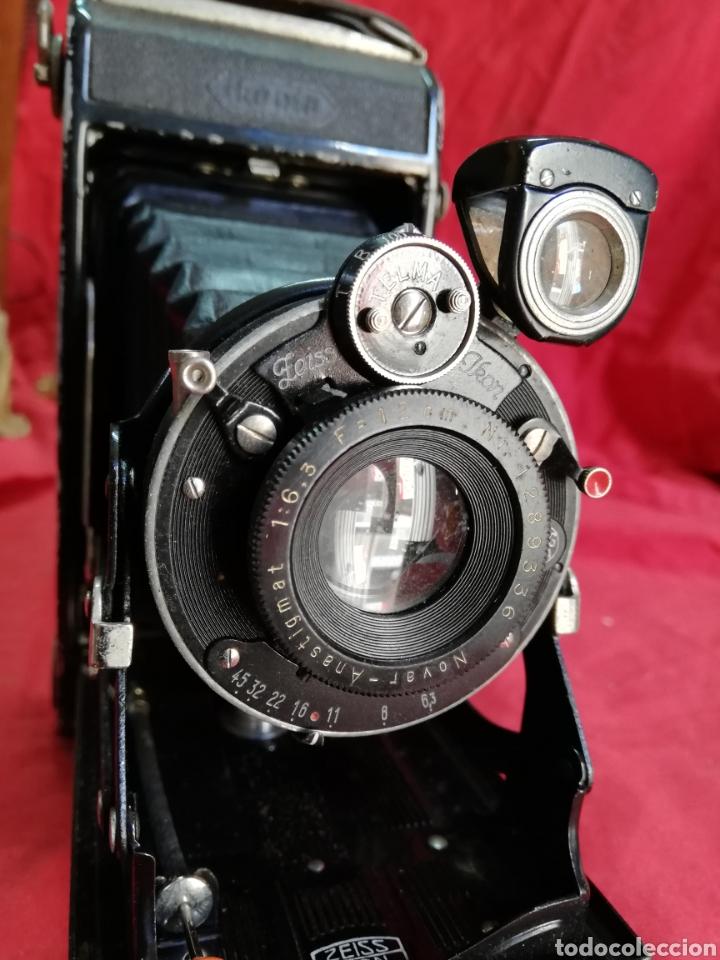 Cámara de fotos: Antigua cámara de fotos de fuelle zeiss - Foto 3 - 160360674