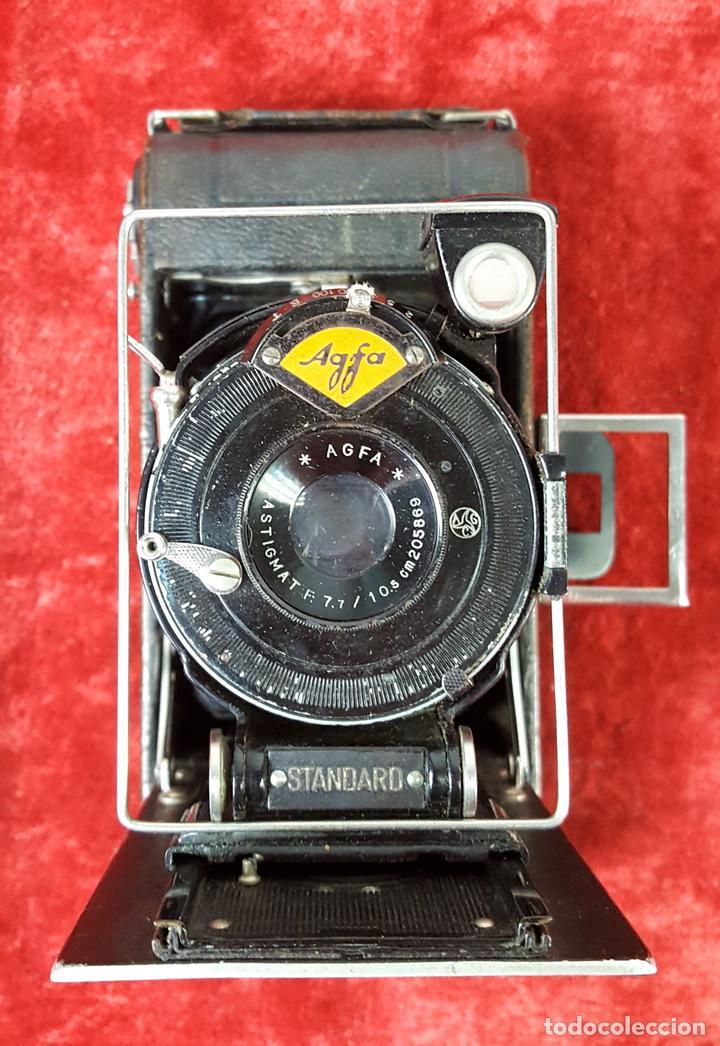 CÁMARA FOTOGRÁFICA DE FUELLE. AGFA. ALEMANIA. PRINC.S. XX. (Cámaras Fotográficas - Antiguas (hasta 1950))