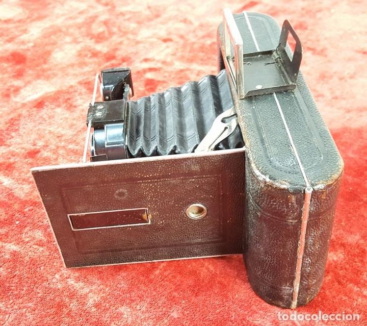 Cámara de fotos: CÁMARA FOTOGRÁFICA DE FUELLE. AGFA. ALEMANIA. PRINC.S. XX. - Foto 4 - 159657942