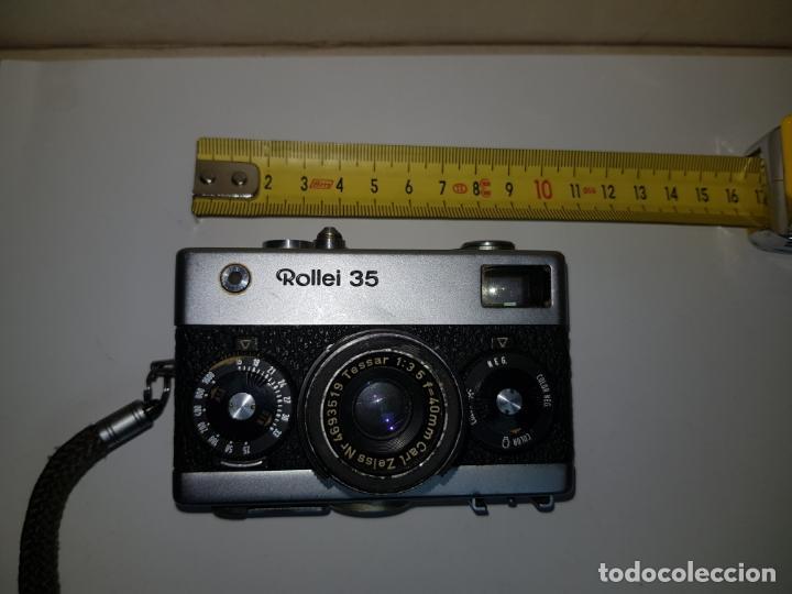 Cámara de fotos: rollei 35 con objetivo carl zeiss made in germany buen estado - Foto 2 - 159736198