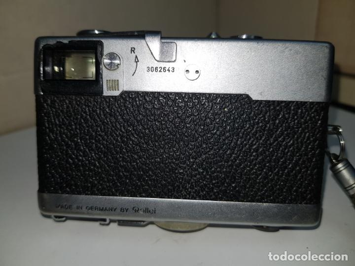 Cámara de fotos: rollei 35 con objetivo carl zeiss made in germany buen estado - Foto 11 - 159736198