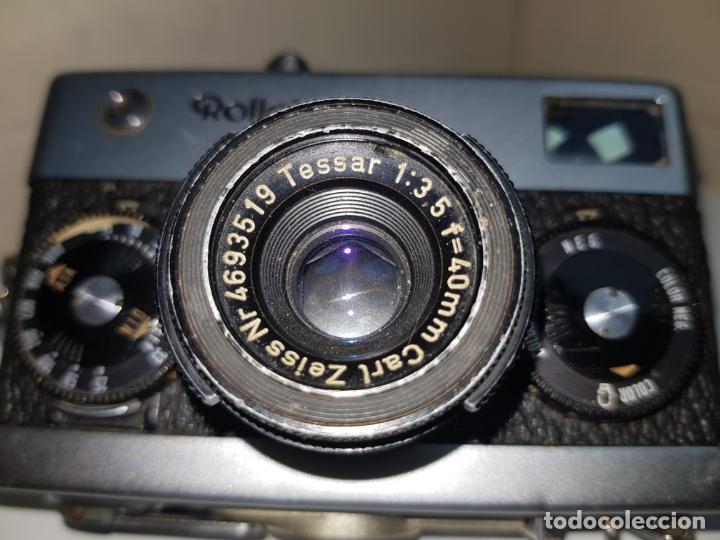 Cámara de fotos: rollei 35 con objetivo carl zeiss made in germany buen estado - Foto 13 - 159736198