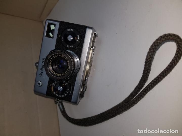Cámara de fotos: rollei 35 con objetivo carl zeiss made in germany buen estado - Foto 14 - 159736198