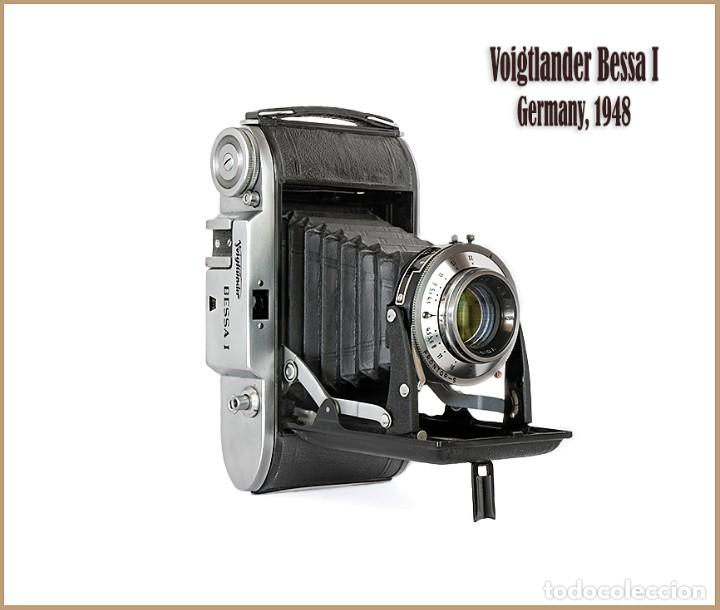 VOIGTLÄNDER BESSA 1. VISTOSA Y EXCELENTE CAMARA PLEGABLE ALEMANA DE 1948. MUY BUEN ESTADO (Cámaras Fotográficas - Antiguas (hasta 1950))