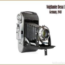 Cámara de fotos: VOIGTLÄNDER BESSA 1. VISTOSA Y EXCELENTE CAMARA PLEGABLE ALEMANA DE 1948. MUY BUEN ESTADO. Lote 160313846