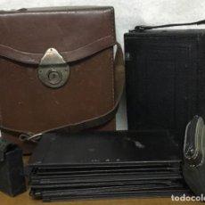 Cámara de fotos: PACK: CÁMARA DE FUELLE - RODENSTOCK - 1930 + FUNDA. Lote 160342582