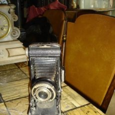Cámara de fotos: BONITA MAQUINA DE FOTOS A FUELLE DE COLECCION. Lote 160706666