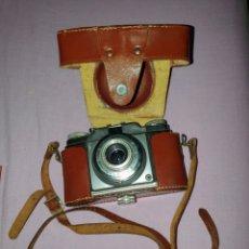 Cámara de fotos - Antigua cámara fotográfica marca Agfa Color SILETTE. Con su funda - 160874065
