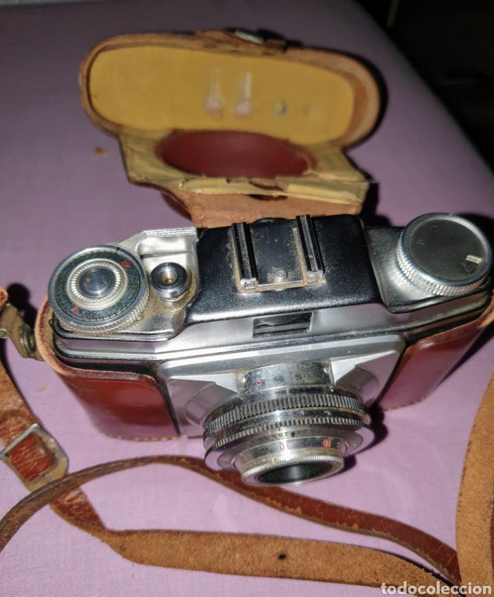 Cámara de fotos: Antigua cámara fotográfica marca Agfa Color SILETTE. Con su funda - Foto 2 - 160874065