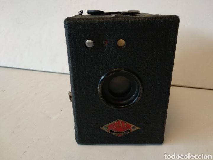 CÁMARA CORONET AJAX.AÑO 1930.120 FILM.RARA (Cámaras Fotográficas - Antiguas (hasta 1950))