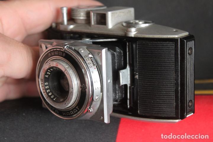 Cámara de fotos: Agfa Karat 4.5 + estuche de cuero - Foto 2 - 161868358