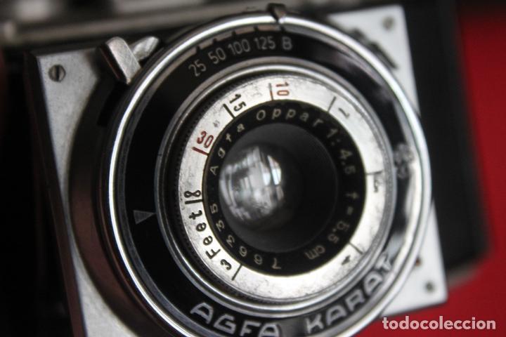 Cámara de fotos: Agfa Karat 4.5 + estuche de cuero - Foto 3 - 161868358