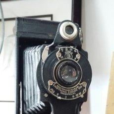 Cámara de fotos - Antigua cámara Hawk -eye Folding Kodak N°2 - 162808220