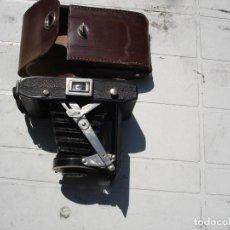 Photo camera - cmara de fotos de fuelle con su estuche original en cuero casi como nueva - 164498966