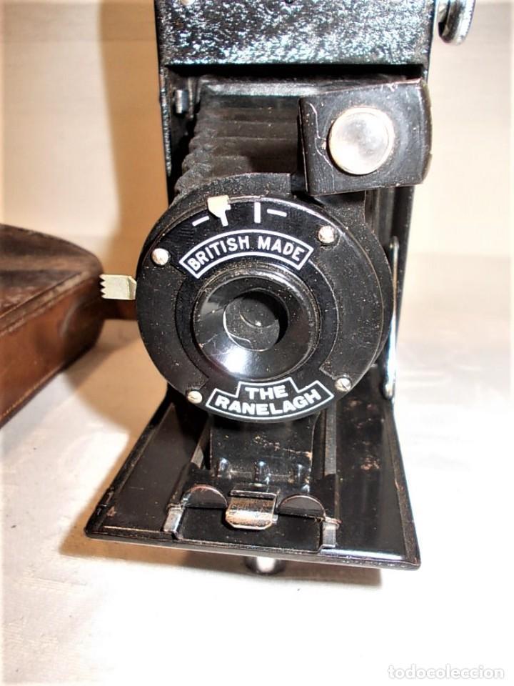 ANTIGUA CAMARA DE FUELLE BRITANICA DE LA MARCA RANELAGH. DIFICIL DE ENCONTRAR (Cámaras Fotográficas - Antiguas (hasta 1950))