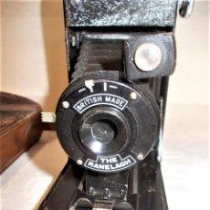 Cámara de fotos: ANTIGUA CAMARA DE FUELLE BRITANICA DE LA MARCA RANELAGH. DIFICIL DE ENCONTRAR. Lote 165586270