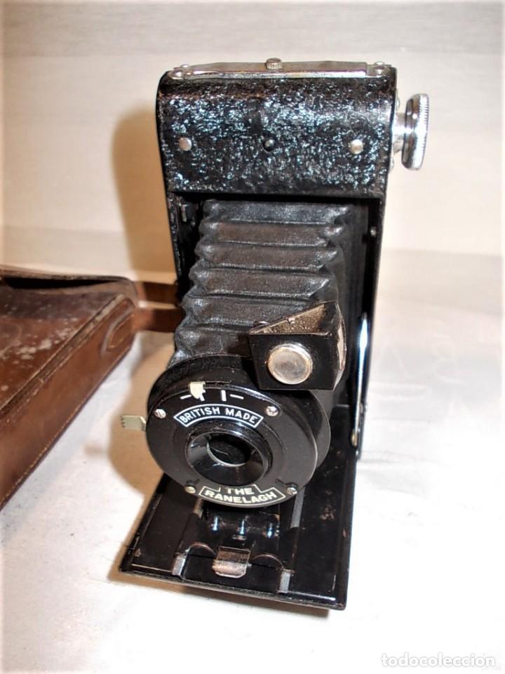 Cámara de fotos: Antigua camara de fuelle Britanica de la marca Ranelagh. Dificil de encontrar - Foto 2 - 165586270