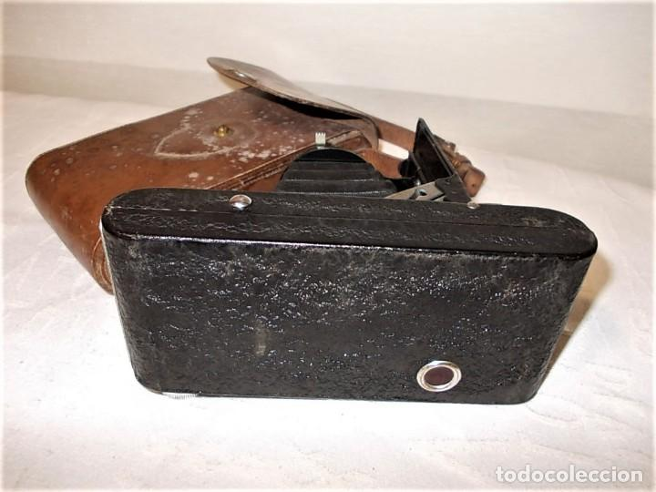 Cámara de fotos: Antigua camara de fuelle Britanica de la marca Ranelagh. Dificil de encontrar - Foto 5 - 165586270