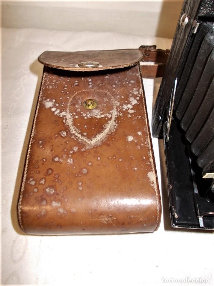 Cámara de fotos: Antigua camara de fuelle Britanica de la marca Ranelagh. Dificil de encontrar - Foto 6 - 165586270