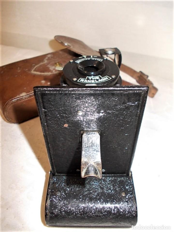 Cámara de fotos: Antigua camara de fuelle Britanica de la marca Ranelagh. Dificil de encontrar - Foto 8 - 165586270