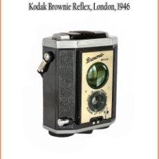 Cámara de fotos: KODAK BROWNIE REFLEX, INTERESANTE CÁMARA TIPO TLR BÁSICA DISEÑADA EN UK. MUY BUEN ESTADO. Lote 166460342
