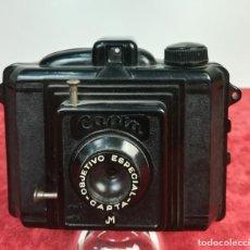 Cámara de fotos: CÁMARA FOTOGRÁFICA CAPTA OBJETIVO ESPECIAL M. (CIRCA 1948) VALENCIA. Lote 166508130