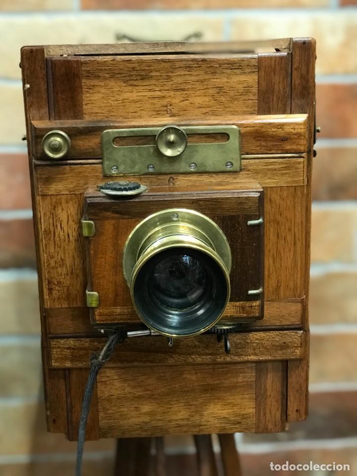 Cámara de fotos: Cámara fotográfica antigua trípode Ernemann - Foto 4 - 166804994