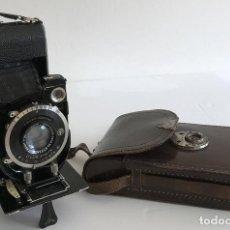Cámara de fotos: CÁMARA DE FOTOS GLUNZ. AÑOS 40-50. FUNCIONA. ESTUCHE ORIGINAL.. Lote 167342864