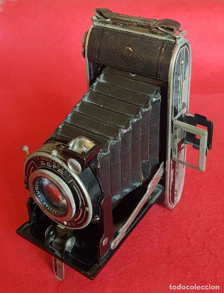 CAMARA AGFA BILLY RECORD (Cámaras Fotográficas - Antiguas (hasta 1950))