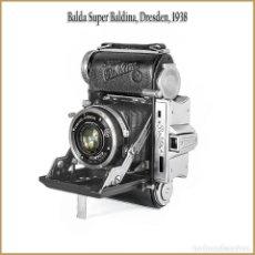 Cámara de fotos: BALDA SUPER BALDINA. EXCELENTE TELEMÉTRICA ALEMANA DE 1938. MUY BUEN ESTADO.. Lote 167064744