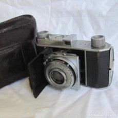 Cámara de fotos: CÁMARA FOTOGRÁFICA KODAK RETINA. FUNDA DE CUERO. Lote 167594112