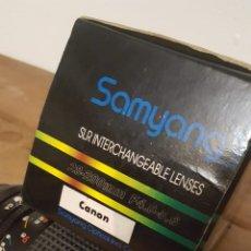 Cámara de fotos: OBJETIVO SAMYANG CANON 28/200. Lote 167599110