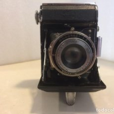 Cámara de fotos: CAMARA ZEISS IKON NETTAR 515 - OBJETIVO NOVAR 1:4.5 / 7.5 CM Y OBTURADOR KLIO. Lote 167713876