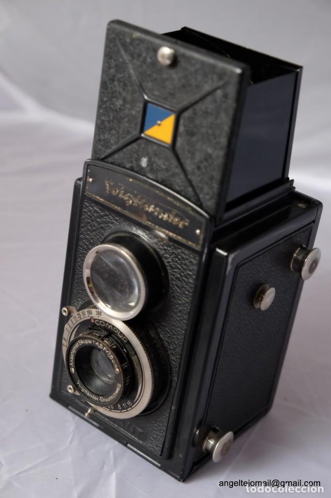 VOIGTLÄNDER BRAUNSWEIG. (Cámaras Fotográficas - Antiguas (hasta 1950))