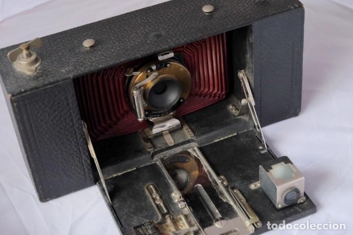 Cámara de fotos: Kodak gran Formato.Fuelle Rojo. - Foto 3 - 168699492
