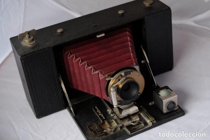 Cámara de fotos: Kodak gran Formato.Fuelle Rojo. - Foto 4 - 168699492