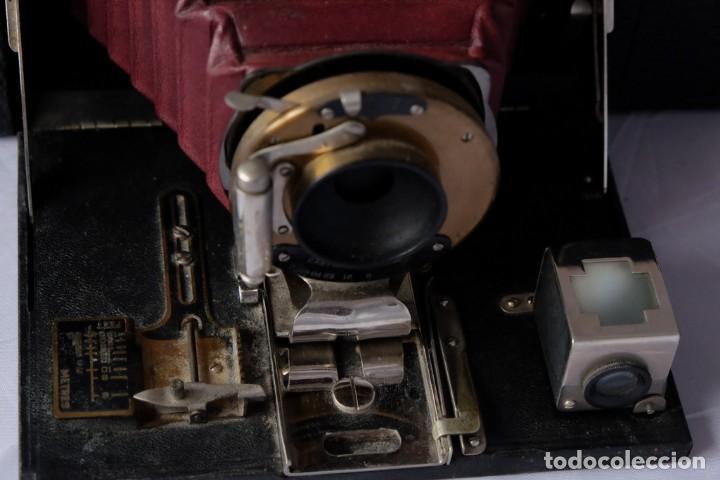 Cámara de fotos: Kodak gran Formato.Fuelle Rojo. - Foto 5 - 168699492