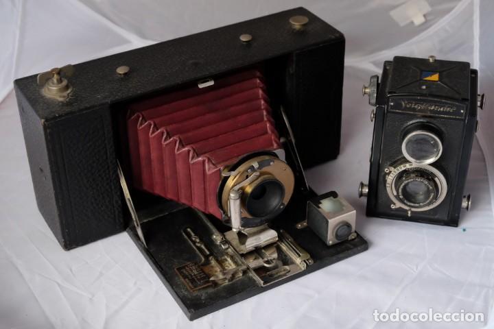 Cámara de fotos: Kodak gran Formato.Fuelle Rojo. - Foto 7 - 168699492